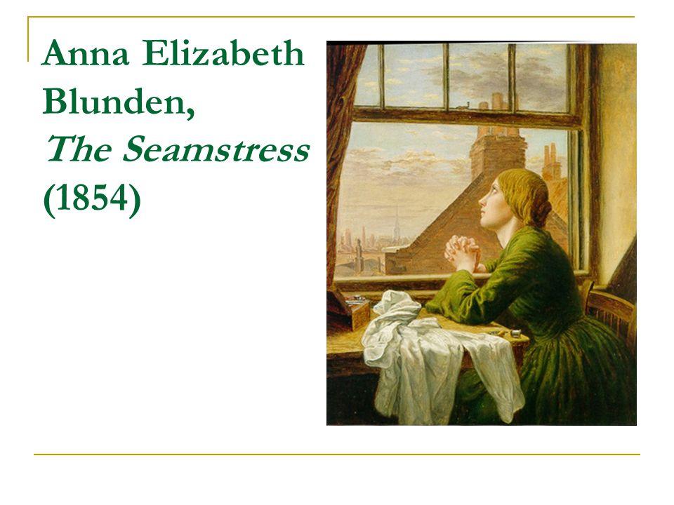 Anna Elizabeth Blunden, The Seamstress (1854)