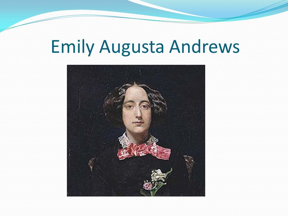 Emily Augusta Andrews