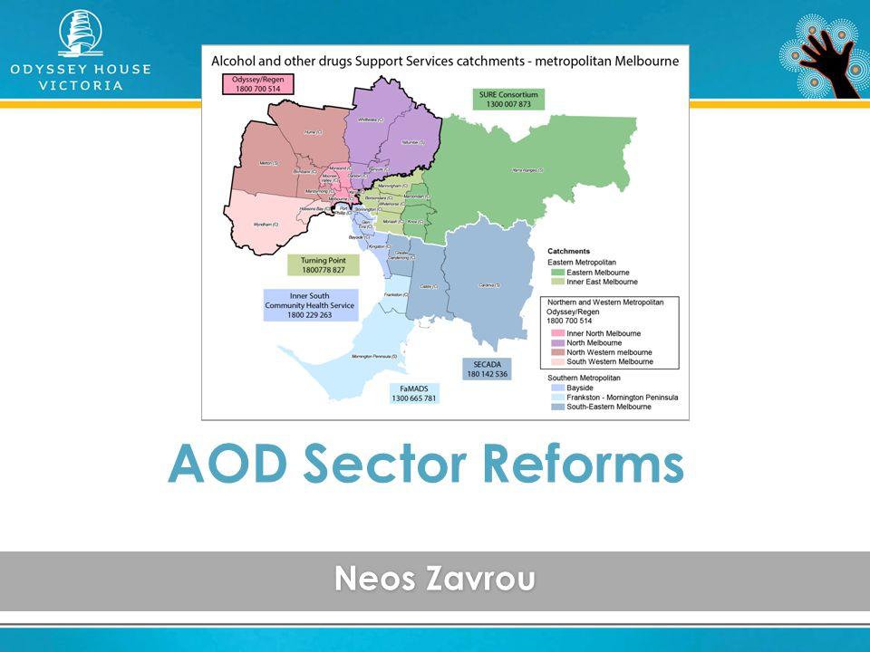 Neos Zavrou AOD Sector Reforms