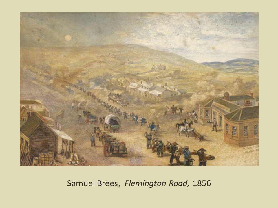 Samuel Brees, Flemington Road, 1856