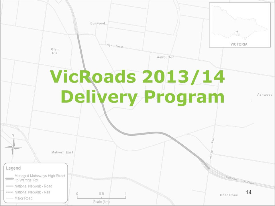 VicRoads 2013/14 Delivery Program 14