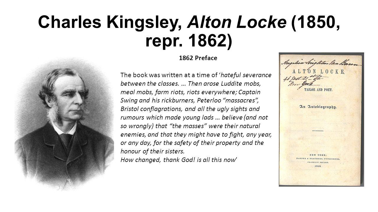 Charles Kingsley, Alton Locke (1850, repr.