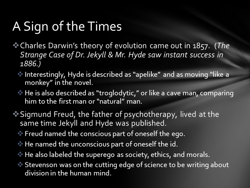  Charles Darwin's theory of evolution came out in 1857.