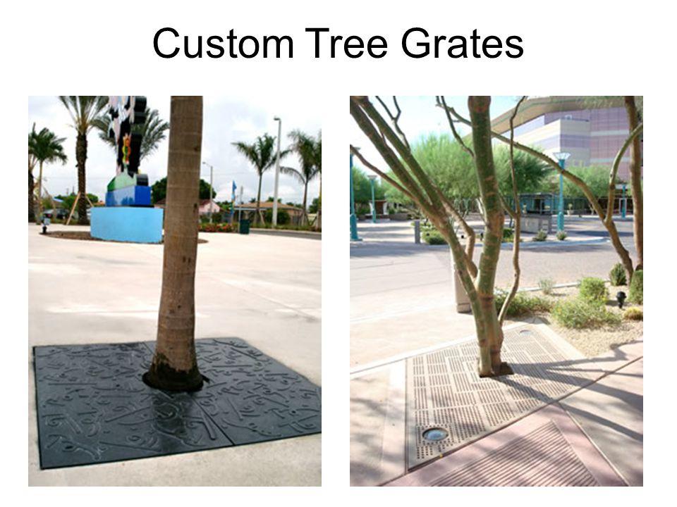 Custom Tree Grates