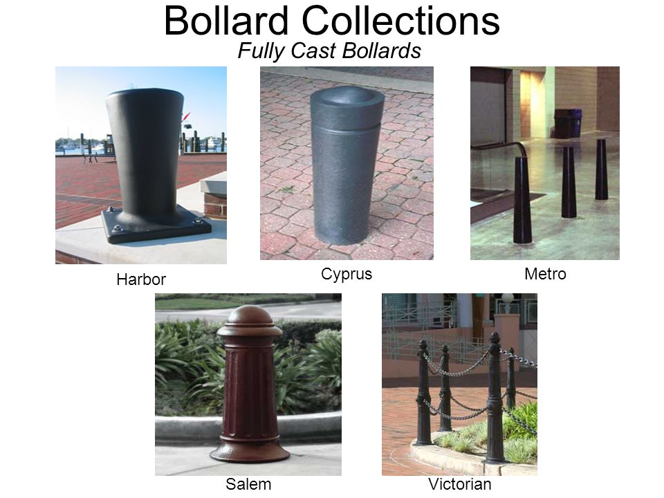 Bollard Collections Fully Cast Bollards Cyprus Victorian Harbor Metro Salem