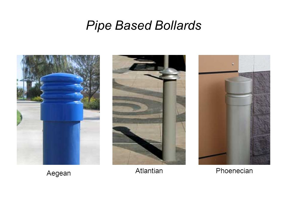 Pipe Based Bollards Aegean AtlantianPhoenecian