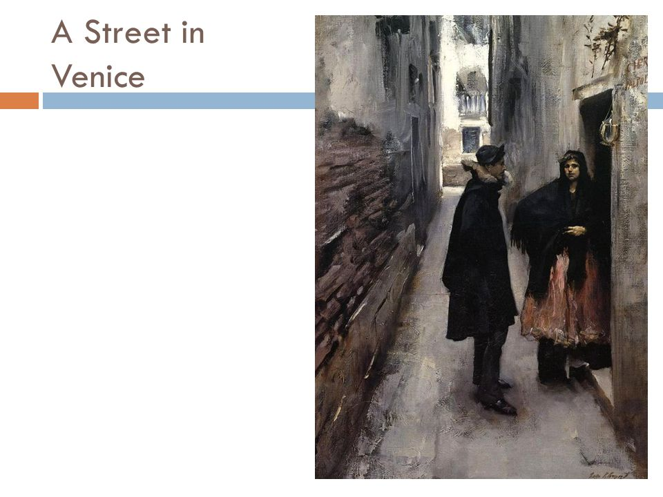 A Street in Venice