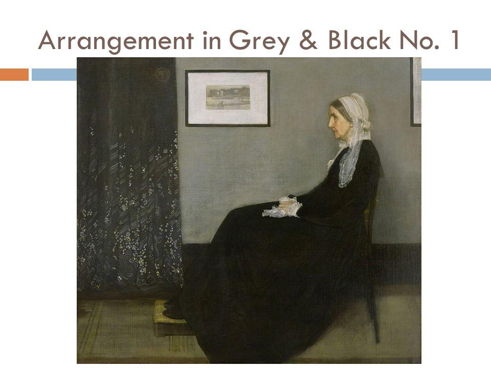 Arrangement in Grey & Black No. 1