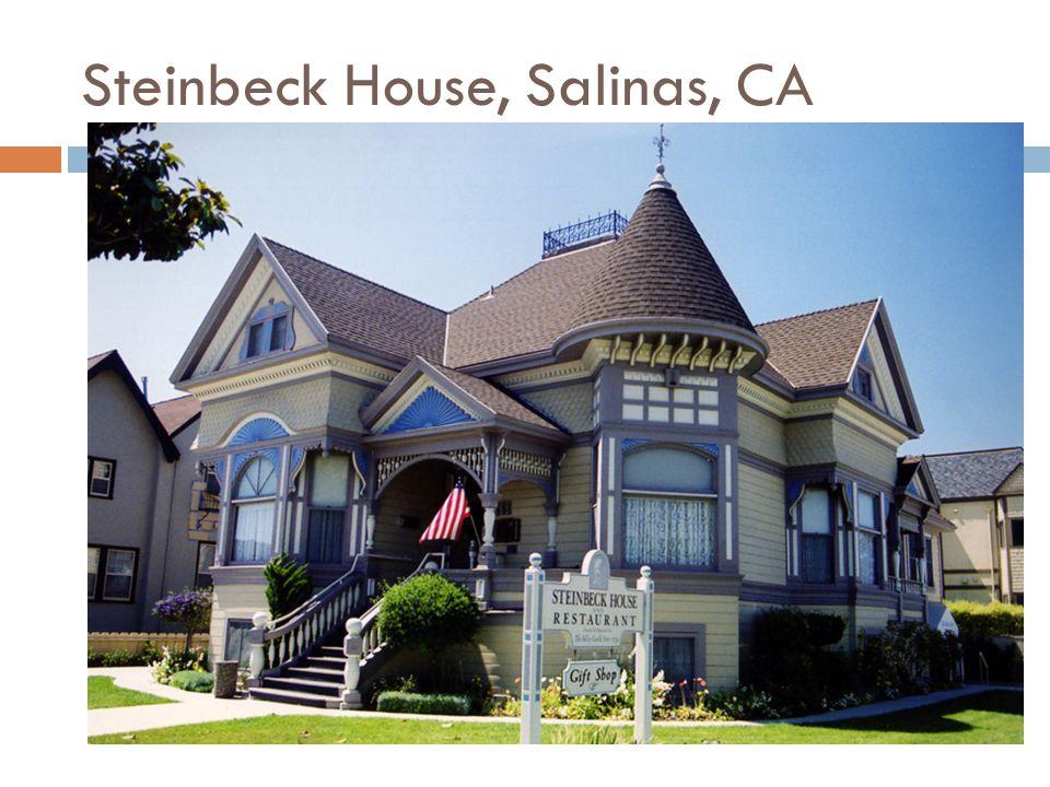 Steinbeck House, Salinas, CA