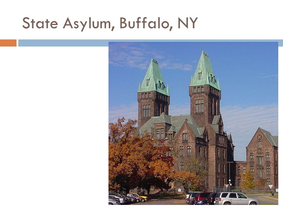 State Asylum, Buffalo, NY