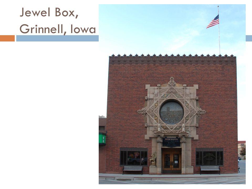Jewel Box, Grinnell, Iowa