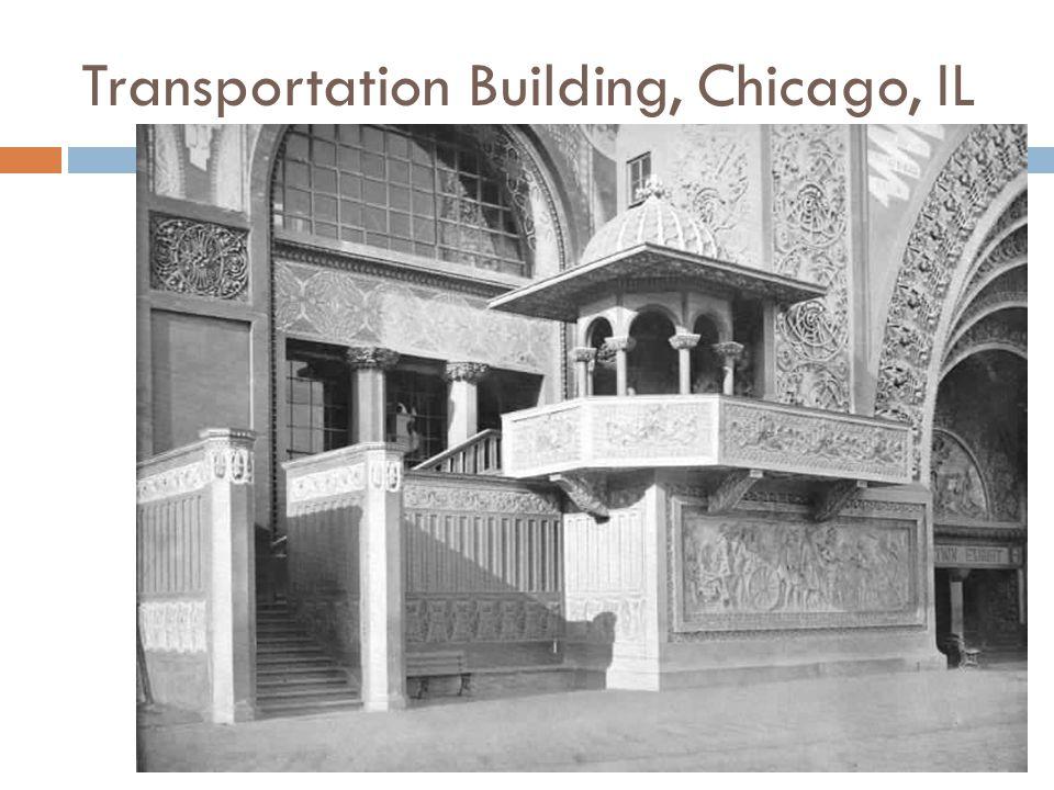 Transportation Building, Chicago, IL