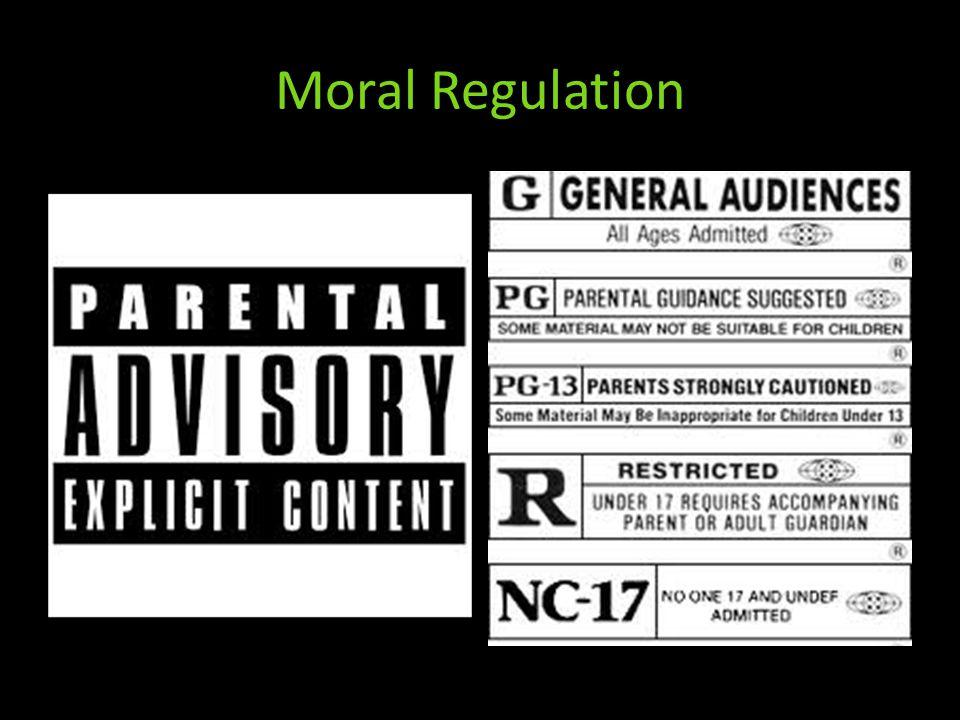 Moral Regulation