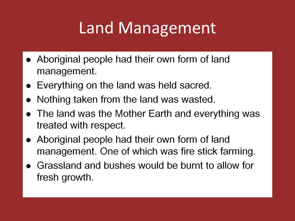 Land Management