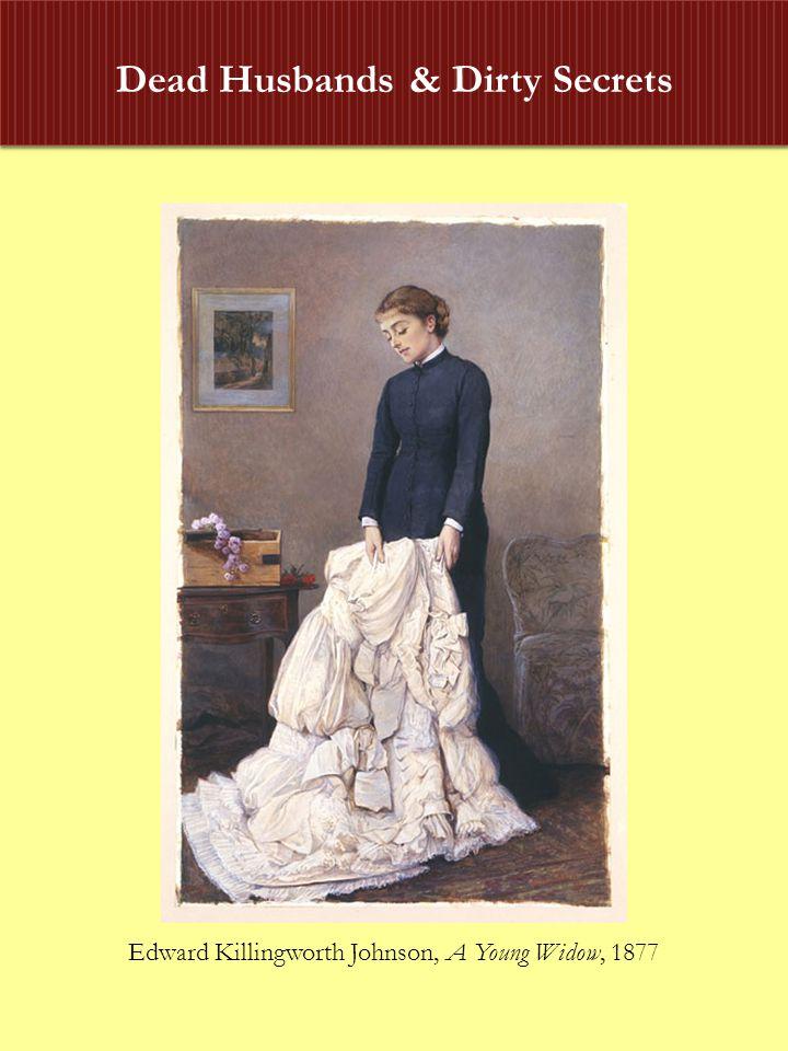 Dead Husbands & Dirty Secrets Edward Killingworth Johnson, A Young Widow, 1877