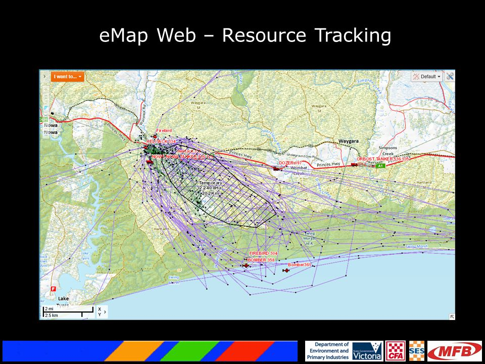 eMap Web – Resource Tracking