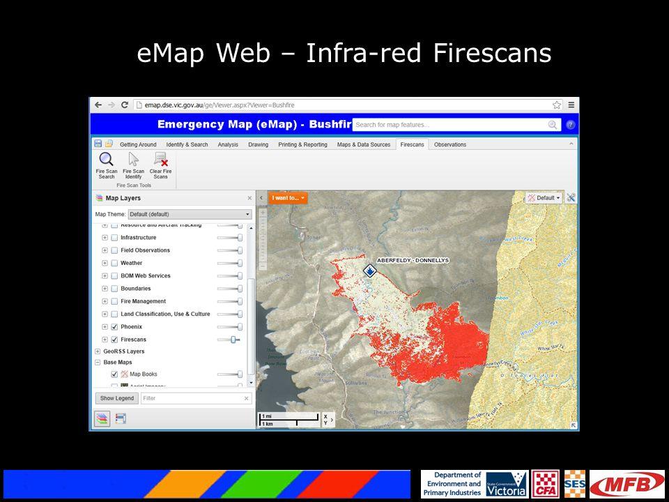 eMap Web – Infra-red Firescans