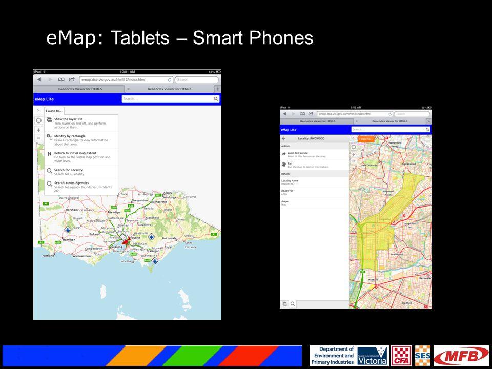 eMap: Tablets – Smart Phones