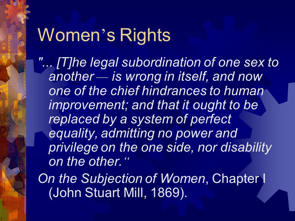 Women ' s Rights ...