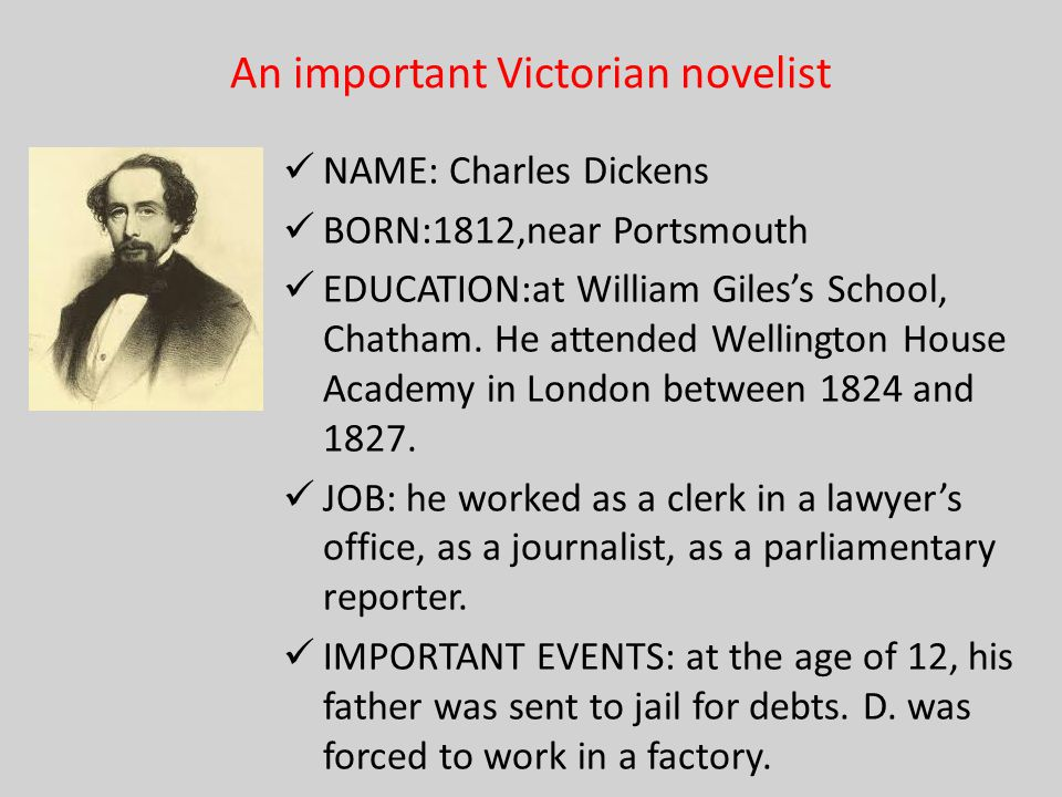 D's most famous novels Pickwick Papers: a series of anecdotal stories regarding the members of a London club and their comic encounters.