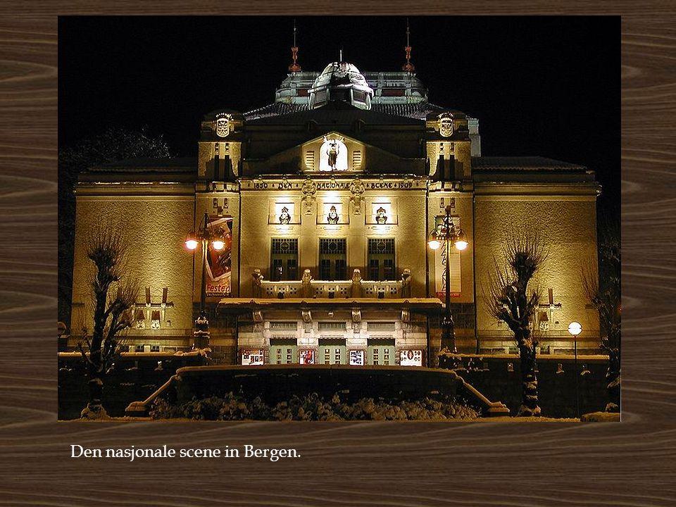 Den nasjonale scene in Bergen.