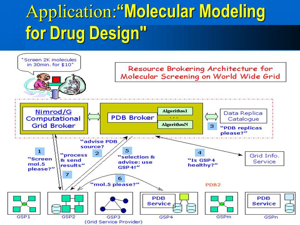 """12 Application: """"Molecular Modeling for Drug Design"""