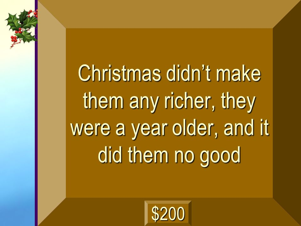 Why Scrooge thought people who celebrated Christmas were fools next
