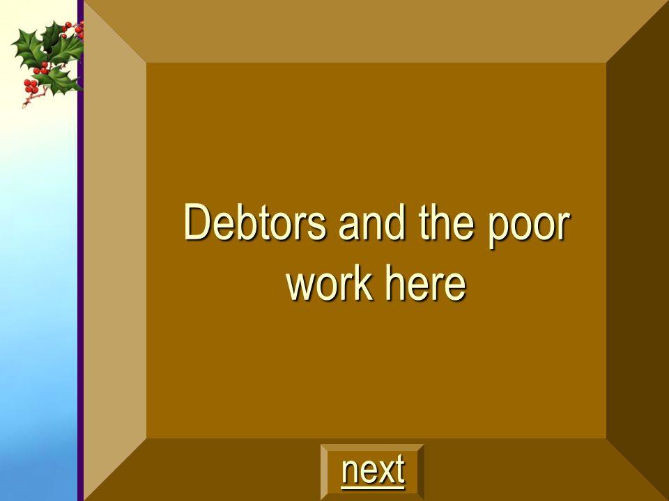 The poor and destitute $300