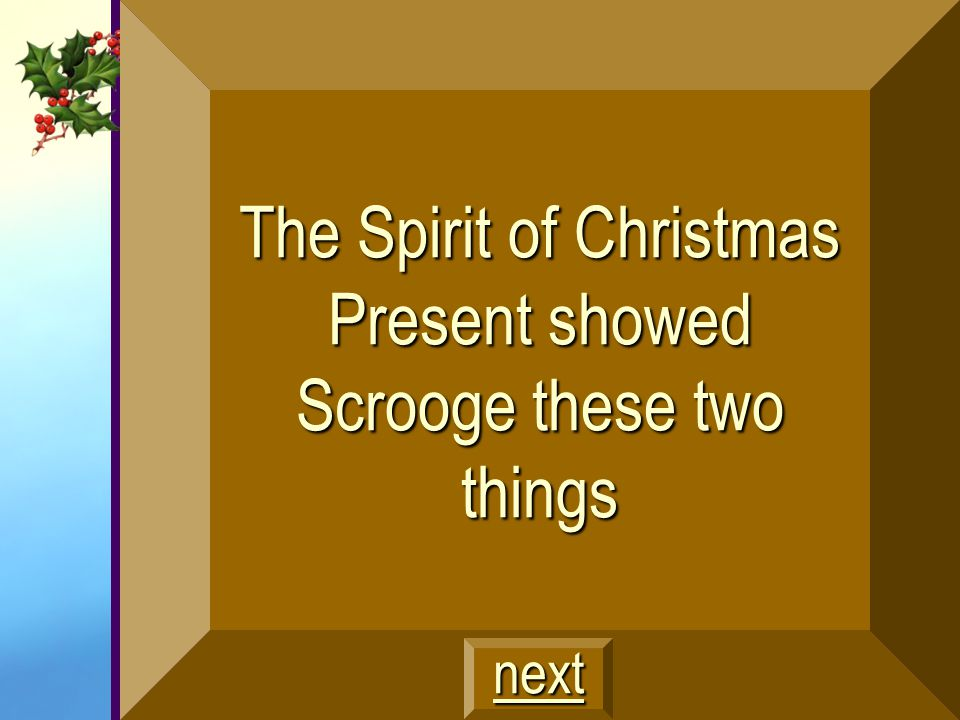 Scrooge as a child at boarding school, Fezziwig's party, and Scrooge's lost love $400