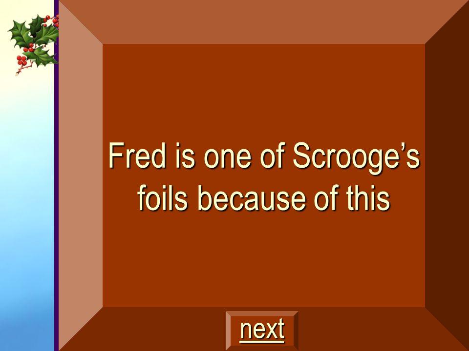 Ebenezer Scrooge $200