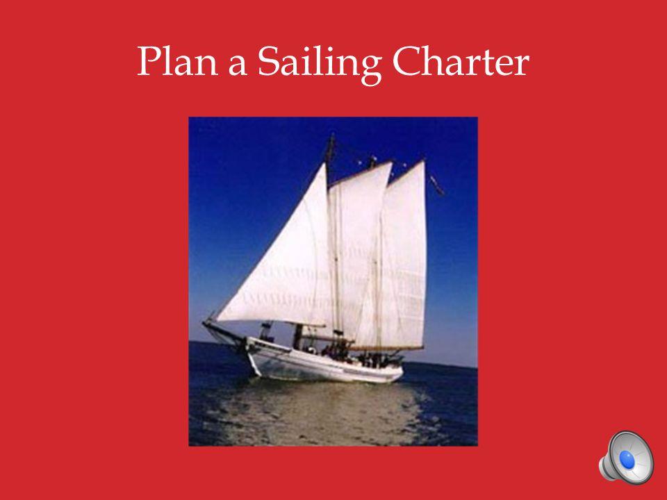 Plan a Sailing Charter