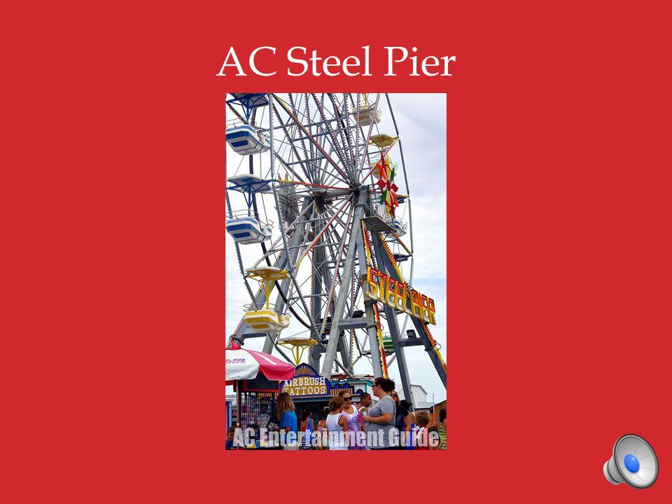 AC Steel Pier