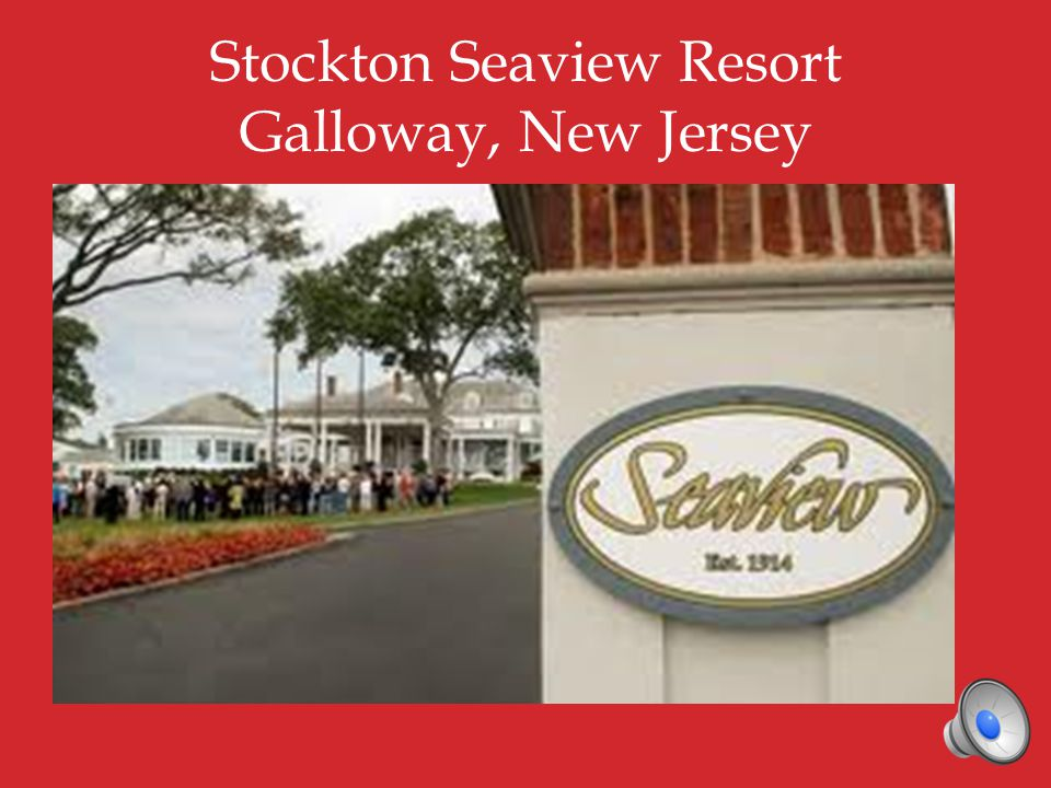 Stockton Seaview https://www.facebook.com/seaviewre sort/info http://www.stocktonseaview.com/pho to-gallery/photo-gallery.asp Airports (in alphabetical order) Newark http://www.panynj.gov/airports/newar k-liberty.html Trenton-Mercer http://www.state.nj.us/counties/mercer /departments/airport/airlines.html Philadelphia http://www.phl.org/Pages/HomePage.