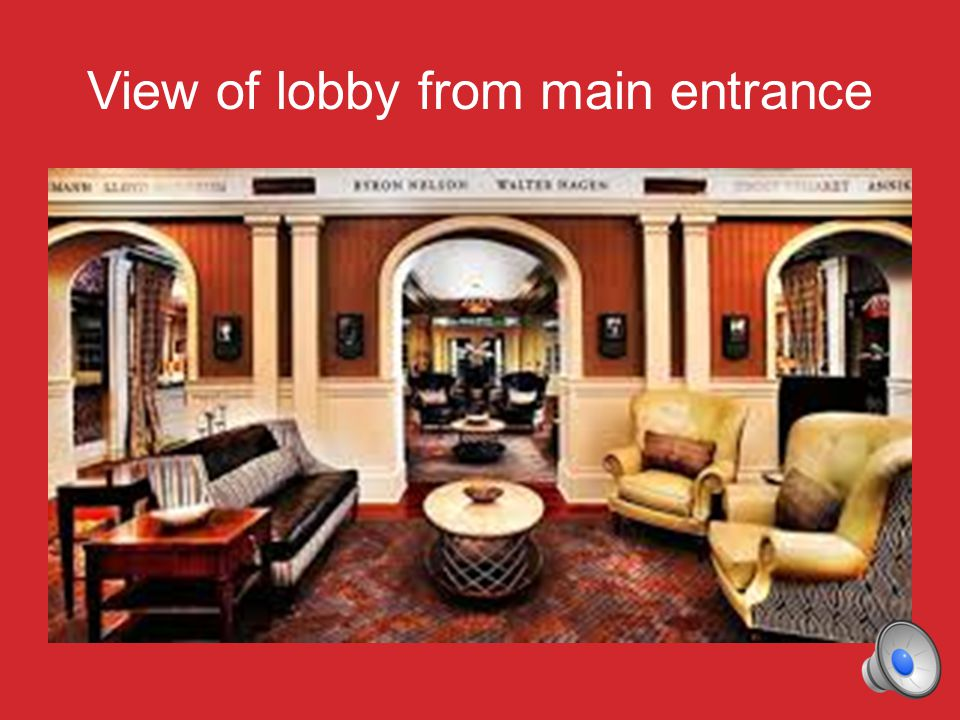 The Main Dining Room serves breakfast and dinner just off the front lobby…