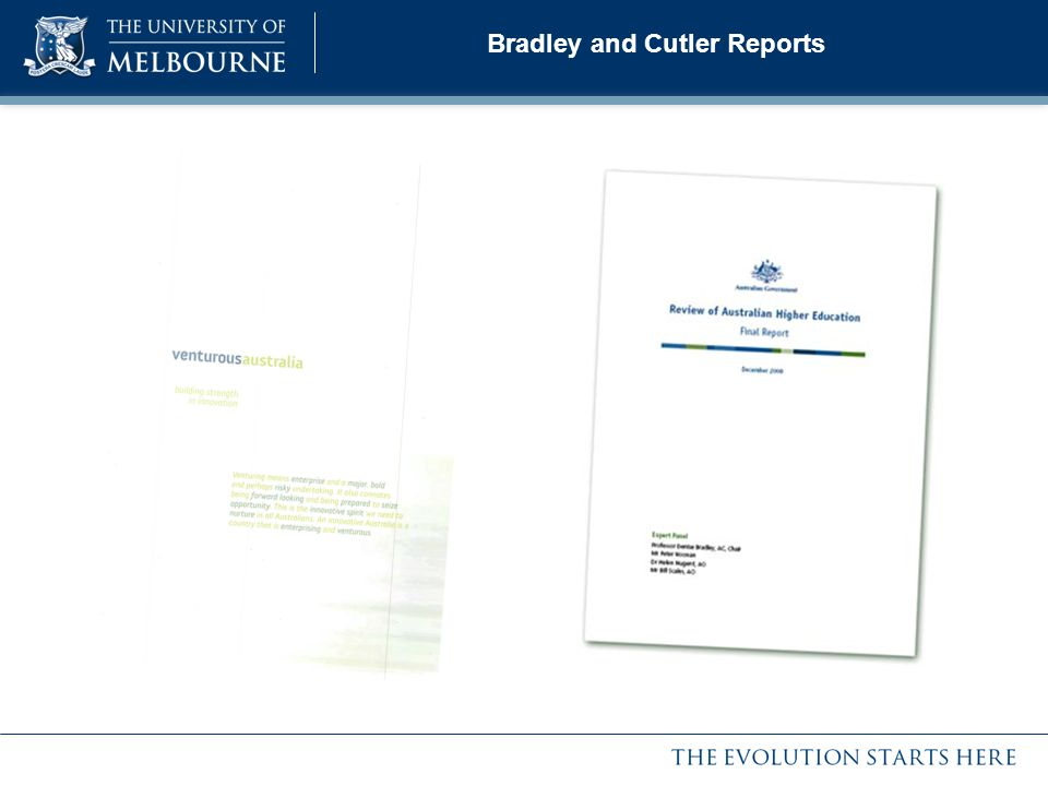 Bradley and Cutler Reports