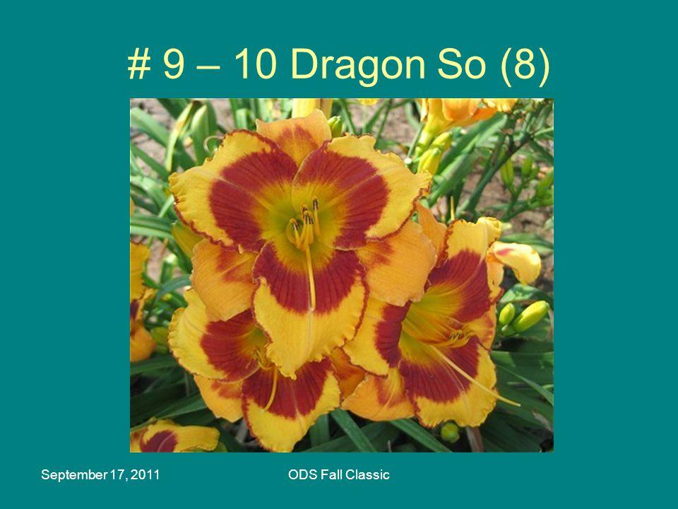 September 17, 2011ODS Fall Classic # 9 – 10 Dragon So (8)