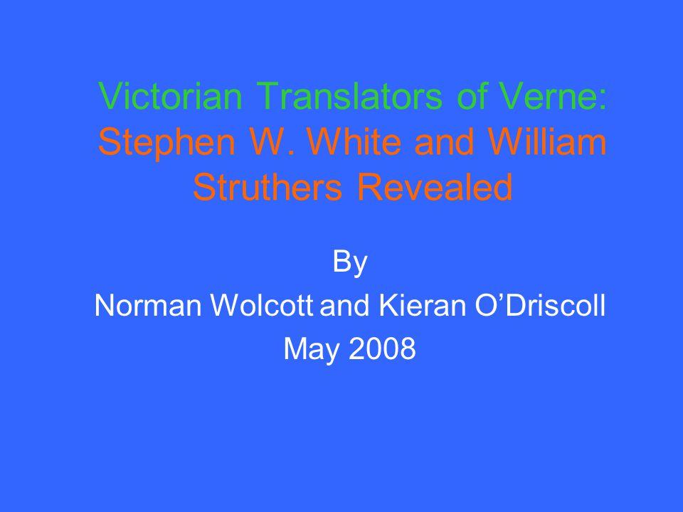 Victorian Translators of Verne: Stephen W.