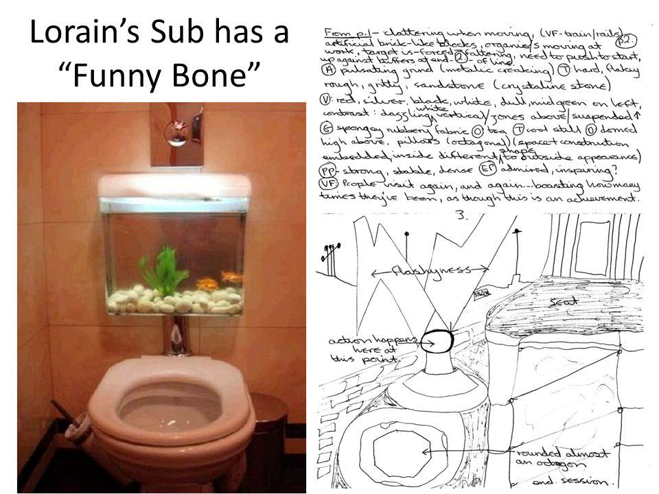 Lorain's Sub has a Funny Bone
