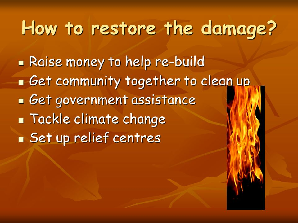 How often do these disasters occur.How long do they last.