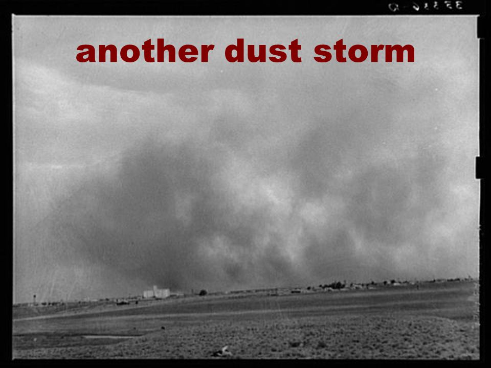 18 another dust storm