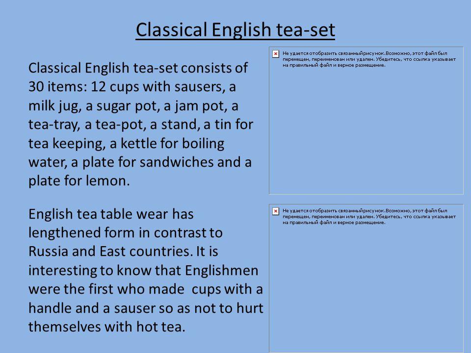 Tea-break Tea-break is a part of etiquette.