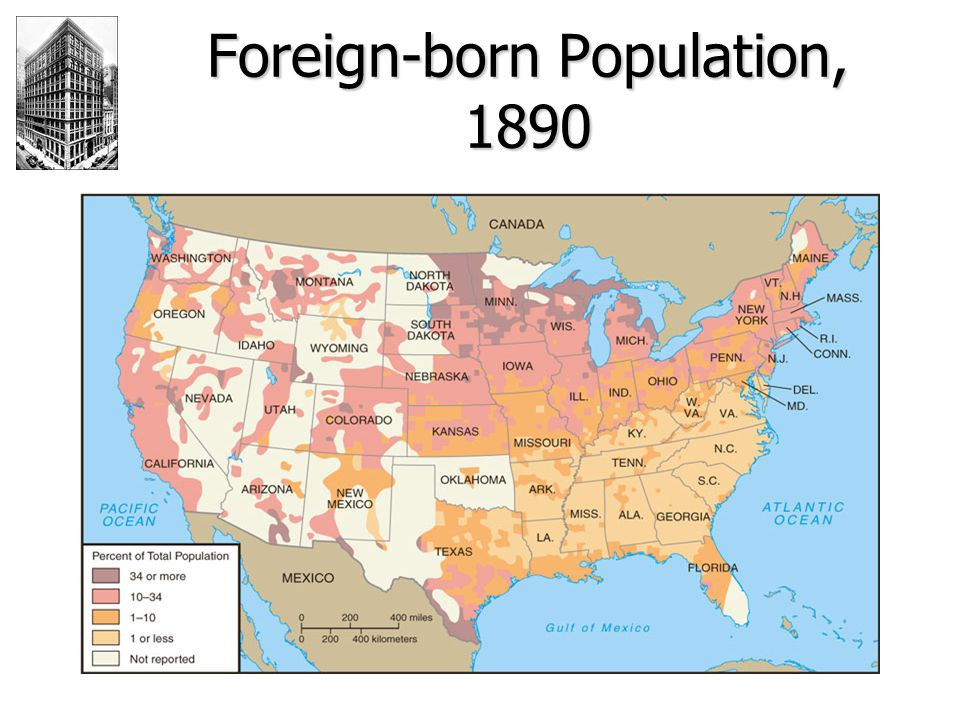 Foreign-born Population, 1890