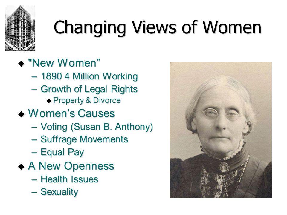 Changing Views of Women 
