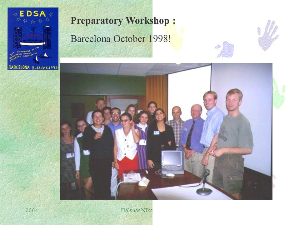 2004Hälsnäs Nikos Mattheos The Virtual Classroom in Periodontology EDSA, 1998 - 1999