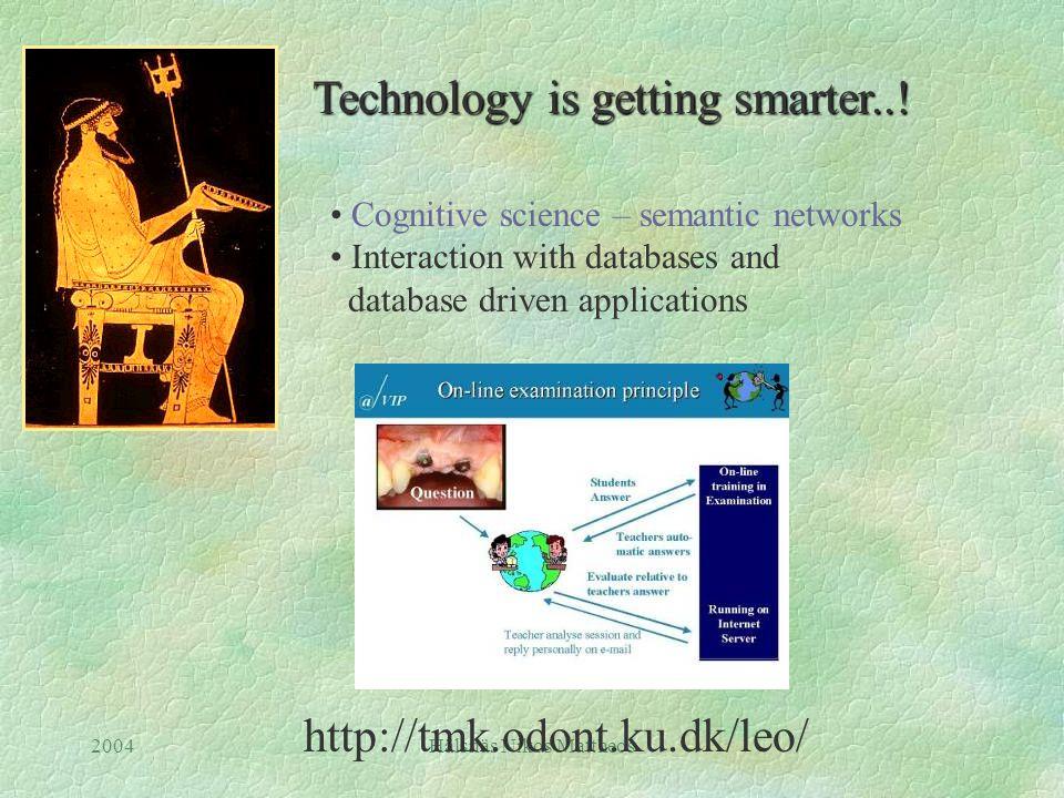 2004Hälsnäs Nikos Mattheos Technology is getting smarter...
