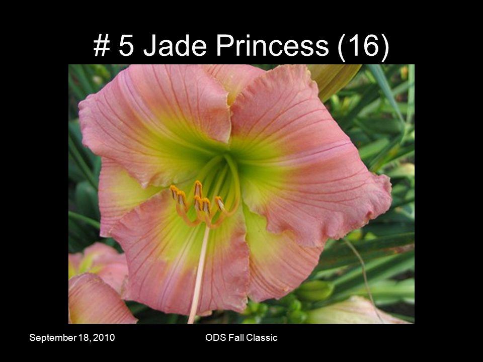 September 18, 2010ODS Fall Classic # 5 Jade Princess (16)