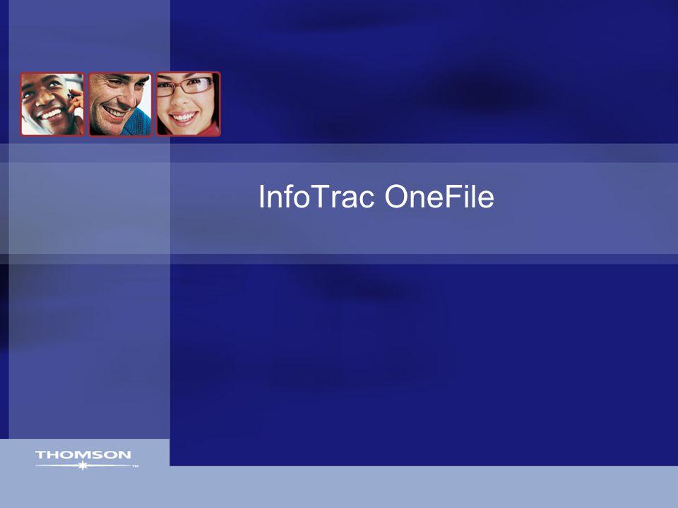 InfoTrac OneFile