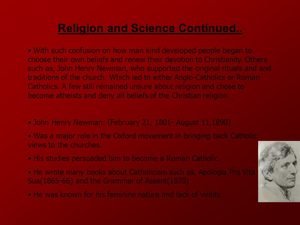 Religion and Science Continued..