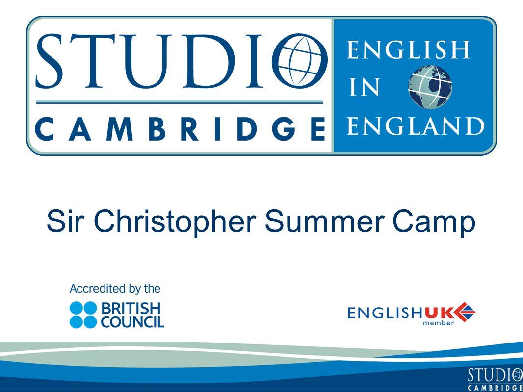 Sir Christopher Summer Camp