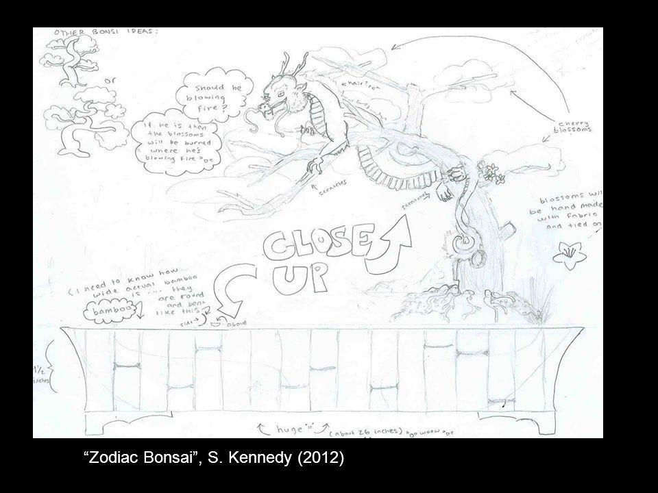 Zodiac Bonsai , S. Kennedy (2012)